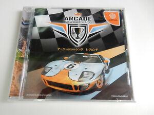 Arcade Racing Legends für Sega Dreamcast - CIB - Komplett - NTSC/J - NEU !