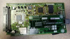 Toshiba Strata CIX 40 GVPH1A V.2C 4 Port Flash Voice Mail System W/ AMDS1A V.3