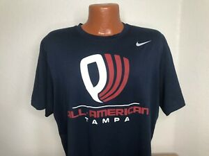 Men's Nike Dri-FIT S/S T-Shirt Size Large (L) ALL AMERICAN