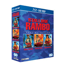 RAMBO Trilogy 1 2 & 3 - Sylvester Stallone [Blu-Ray]+[HD-DVD] BOX SET *NEW