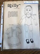 Lot Vintage Magazine paper dolls Doll World