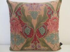 Liberty Burnham algodón y Rosa Tejido De Terciopelo Cubierta Cojín Vintage Art Nouveau