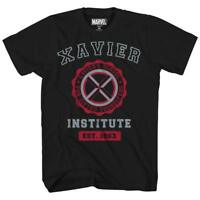Marvel Avengers X-Men Professor Xavier Institute Tee Adult Mens Graphic T-Shirt
