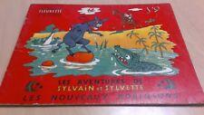 rare SYLVAIN ET SYLVETTE n°9 ¤ LES NOUVEAUX ROBINSONS ¤ 1955 FLEURETTE