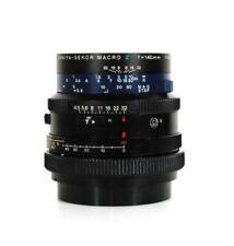 Mamiya Sekor Macro Z 140mm/ 4.5 W pour MAMIYA RZ 67 Objectif lens objectif - 9469