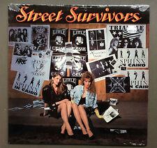 STREET SURVIVORS - Vinyl LP Record VG+ 1988 Black Cherry Tomorrow's Child NRG