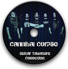 CANNIBAL CORPSE DEATH MÉTAL GUITARE ROCK TABLATURE LIVRE MUSICAL CD DU LOGICIEL