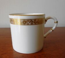 ROYAL WORCESTER GOLDEN ANNIVERSARY COFFEE CAN FINE BONE CHINA ENGLAND