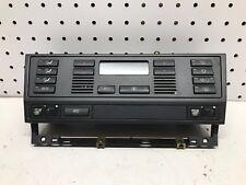 97-99 BMW 528i E39 AC Heater Climate Control W/ Heat Seat Switch OEM