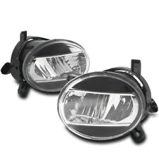 09-12 AUDI A4 B8 BUMPER DRIVING LED FOG LIGHTS LAMP BLACK/CHROME REPLACEMENT NEW