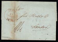 BELGIGUE BELGIUM 1838 Pre-Stamp Cover GAND to LONDON Great Britain
