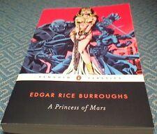 Princess of Mars Sci-Fi Fantasy Trade Paperback Edgar Rice Burroughs John Carter