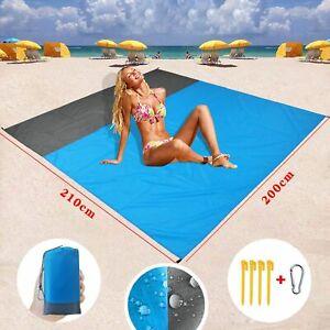 Waterproof Outdoor Travel Camping Mat Anti Sand Picnic Blanket Beach Mat Rug