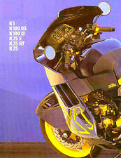 1990 BMW K1-K100-K75 MOTORCYCLE BROCHURE -K1-K100RS-K100LT-K75S-K75RT-K75-BMW