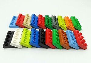 LEGO Duplo 20x flache 8er Grundbausteine - (2x4) Noppen - Basic Platten Set