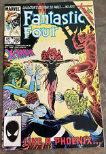 FANTASTIC FOUR #286 WHITE PAGES   RETURN OF JEAN GREY 1986