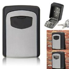 Safe Box Outdoor 4 Digit High Security Wall Mounted Key Code Lock Storage