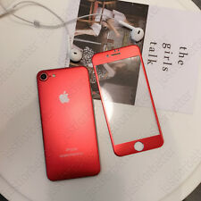 Full Cover 3D Metal Front + Back Tempered Glass Screen Protector for iPhone 6/7P