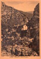 CANZO (COMO) - CHIESA DI S. MIRO AL MONTE - RARA CARTOLINA - ANNI '30