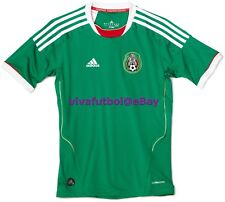 NEW Adidas Mens Seleccion Mexicana Futbol 11/12 Mexico Home Soccer Jersey SMALL