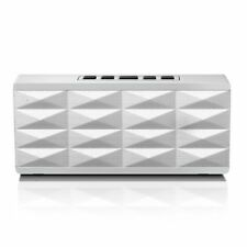 Eagle Tech Arion Portable Bluetooth Speaker with Built-In Speakerphone (White)