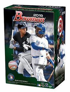 2019 Topps Bowman Baseball Blaster Box- 6ct with Chrome Parallel Inserts | 1989
