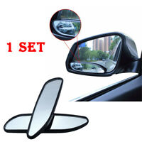2x Blind Spot Mirror Auto 360° Wide Angle Convex Rear Side View Car Accessories