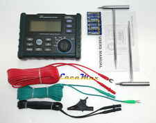 YH300 INSULATION Digital Earth Ground Resistance Voltage Meter Tester