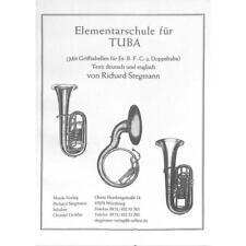 Elementarschule für Tuba von Stegmann Richard 9990050352314