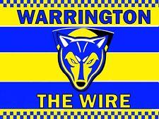 Warrington Wolves 4ft X 3ft Rugby League Flag