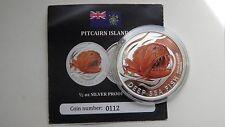 2011 Pitcairn Islands $2 Deep Sea Fish Silver Proof coin