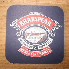 BRAKSPEAR BEERMAT Vintage Beer Mat Coaster Henley on Thames The Brewery