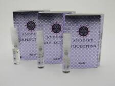 3 x Amouage REFLECTION MAN EDP Eau de Parfum 2ml Vial Spray New With Card