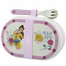 Disney Enchanting A28940 Belle Organic Snack Box with Cutlery Set
