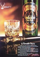 1980/81 GLENFIDDICH Pure Malt Scotch Whisky Advert #8 - Original Print AD