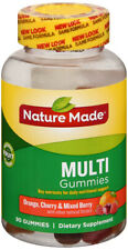 Nature Made Multi Gummies Adult 90 Ct contains essential vitamins and minerals