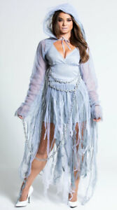 Womens Haunting Beauty Costume, Sexy Ghost Costume