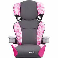 Big Kid Sport High Back Booster Car Seat Toddler Pink Pad Peony Playground