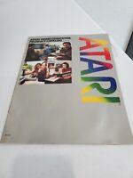 Atari Vintage home computer product catalog