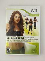 Jillian Michaels Fitness Ultimatum 2009 - Nintendo Wii Game - Complete & Tested