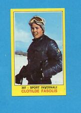 CAMPIONI dello SPORT 1970-71-Figurina n.307- FASOLIS -SPORT INVERNALI-NEW