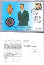 Numisbrief - Spanien / Spain 200 Ptas. 1991 UNC - Prinz Felipe