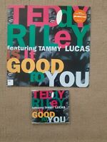 "TEDDY RILEY FT TAMMY LUCAS IS IT GOOD TO YOU 1992 12"" VINYL & CD UK  RELEASE"