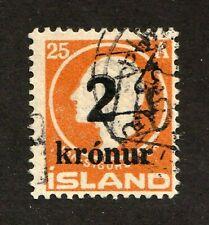 Iceland stamp #149, used, 1925, perf. 13, wmk. 113, SCV $190