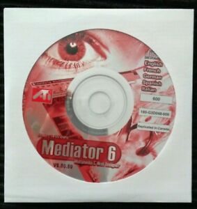 ATI MatchWare Mediator 6 Multimedia & Web Designer Software, Standard Edition CD