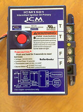 ICM1501 Intermittent Ignition Oil Primary Control 15 secs. REPLACES R8184G4066