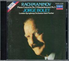 Jorge BOLET: RACHMANINOV Piano Concerto No.3 Ivan FISCHER CD Klavierkonzert 1983