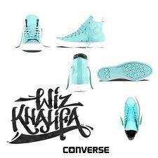Wiz Khalifa's Converse All Stars Sz.11 Men's Teal Sz.13 Women's Leopard Taylors