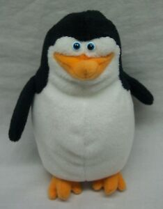 "TY Madagascar Penguins SKIPPER PENGUIN 5"" Plush STUFFED ANIMAL Toy 2008"