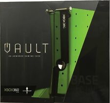 Calibur11 Licensed Vault for XBox360 Base Case Nuclear Green - Brand New